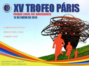 Cartel Trofeo Paris 2014
