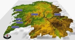 Carreras-mapa-galicia maxica trail 2014