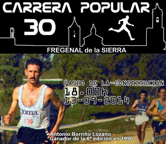 2014 Cartel XXX Carrera Popular Fregenal de la Sierra
