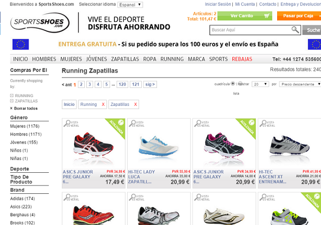 Running Zapatillas   SportsShoes.com